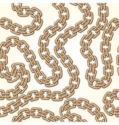 Gold chains pattern vector