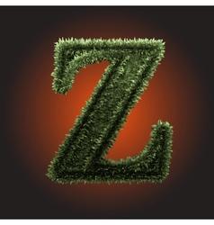 Grass Figure vector image