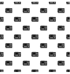 House intercom pattern seamless vector