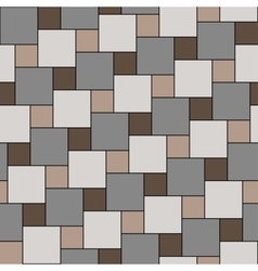 Pastel beige tiles seamless pattern vector