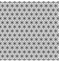 Sacred geometry black flower life texture vector