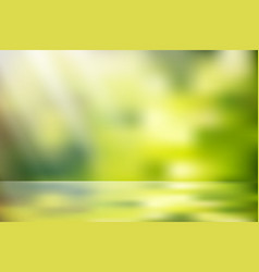 sunlight nature bokeh vector image