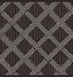 abstract seamless diamond pattern vector image