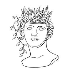 Aphrodite venus goddess fashion classic antique vector