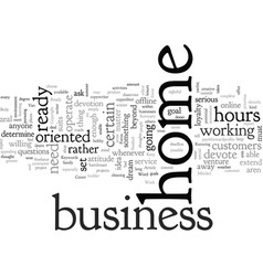 Are you ready and minded to work at home vector