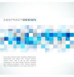 Blue abstract banner vector