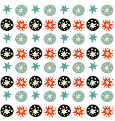 Handdrawn tribal geometric pattern vector