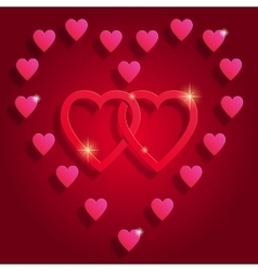 Happy Valentine s day abstract background vector