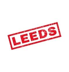 Leeds rubber stamp vector