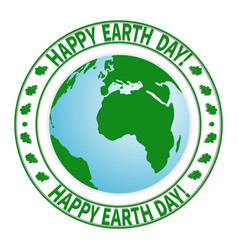 national day of the earth-01 vector image