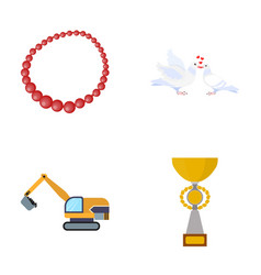 Reward sport business and other web icon in vector