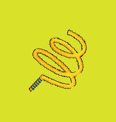 Ribbon gymnastic gymnastics rhythmic vector