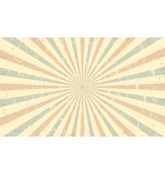Vintage grunge background template vector image