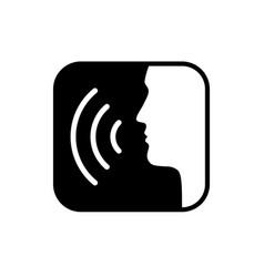 Voice human vector