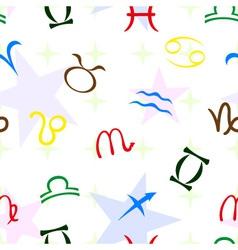 zodiac seamless vector image