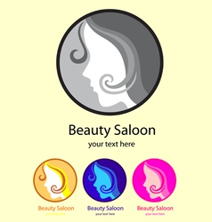 Beauty Saloon Logo vector image