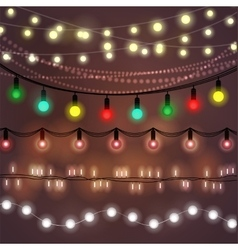 Christmas abstract background vector image vector image