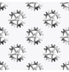 modern mechanism seamless background vector image vector image