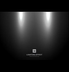 abstract scene illuminated spotlight on black vector image