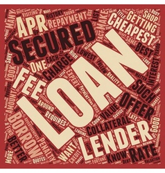 Cheapest Secured Loans Save A Fortune On Your vector
