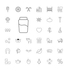 Decoration icons vector