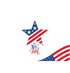 Fourth of july 4th of july celebration holiday vector