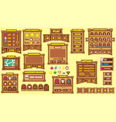game gui 50 vector image