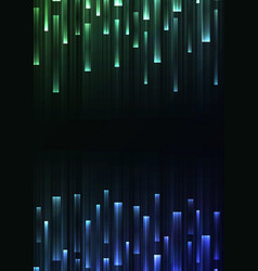 green blue overlap pixel speed abstract background vector image