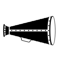 megaphone old retro vintage icon stock vector image vector image