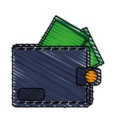 wallet icon image vector image