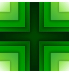 Abstract green triangle shapes background vector