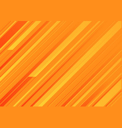 Abstract orange background with orange stripes vector