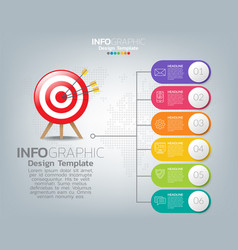 Business infographics template collection graphic vector