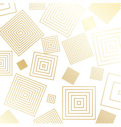 geometric gold glittering seamless pattern on vector image