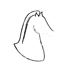 Horse icon image vector