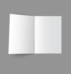 Open magazine vector
