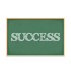 Success vector image vector image