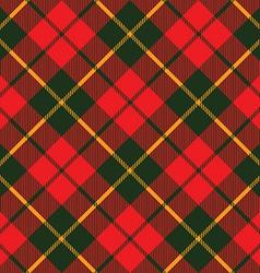 Tartan fabric texture diagonal little pattern vector