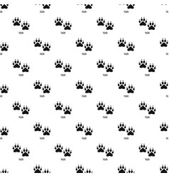 Tiger step pattern seamless vector