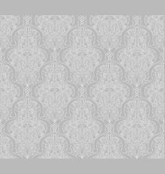 Vintage islamic motif pattern vector