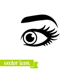 Eye icon 9 vector