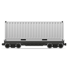 railway carriage 01a vector image vector image