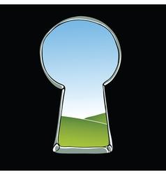 Keyhole vector