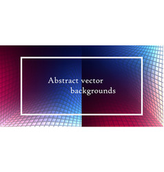 abstract backgrounds set trendy multicolored vector image