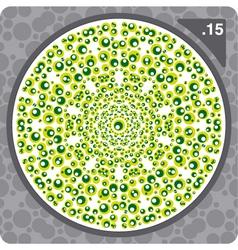 abstract circles decorative ornament vector image vector image