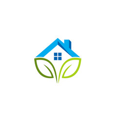 green house logo vector image