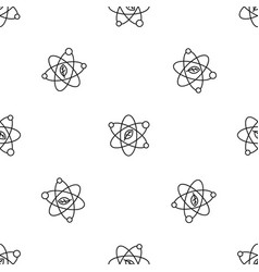 leaf atom pattern seamless vector image
