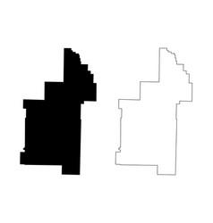 Sharp county arkansas us county united states vector