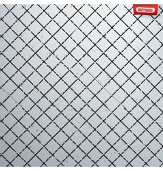 Seamless cross hatch pattern vector image vector image