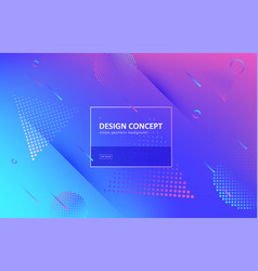 Abstract background gradient geometric vector